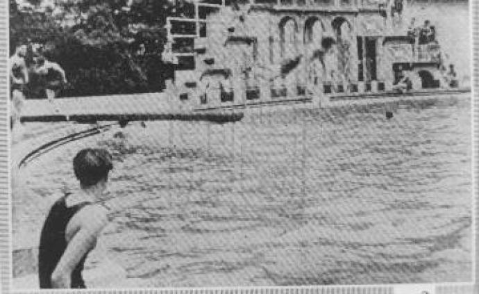 虹口游泳池:1930年代的作家乐园