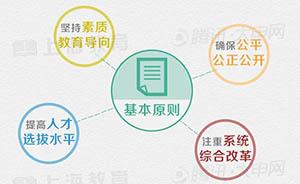五张图全面解读上海高考改革方案:今年启动,2017年整体实施