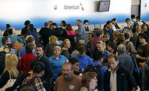 芝加哥美国航空署遭纵火,美国内国际1700航班遭取消