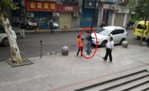 """武汉扇环卫工耳光""""宝马男""""被拘10天,已当面向环卫工道歉"""
