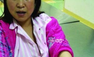 河南一警察妻子涉卖淫被抓,带离途中当街脱衣服踢烂警车玻璃