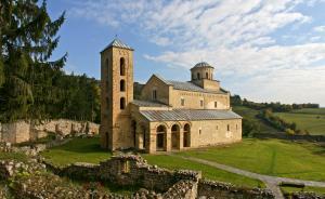 原来世界上最美的修道院都在塞尔维亚了