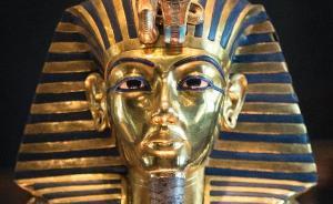 法老图坦卡蒙黄金面具的胡子,到底怎么了?