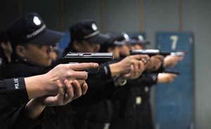 民警每人至少实弹射击30发,公安部详解枪械训练进展