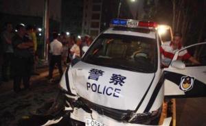"""深圳驾警车撞宾利副局长被拘10日,""""血液中未检出酒精"""""""