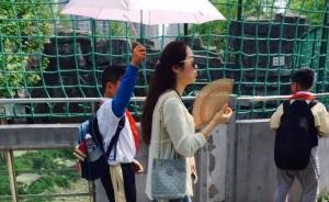 """春游让小学生打伞""""霸气教师""""来自上海宝山区,市教委已介入"""