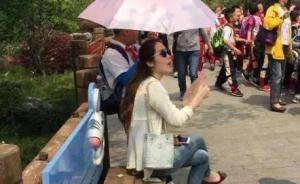 """校方谈""""小学生为教师打伞"""":当时教师并未反对,已严肃批评"""