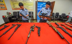 杭州破获特大枪支弹药走私案,上百支枪拆散从香港寄到十余省