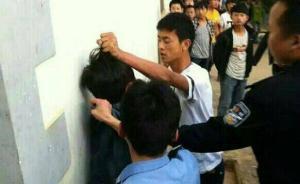 云南初二男生被指挑衅警察遭追打,警方:调查清楚后再处理