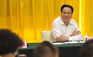 澎湃独家 | 广东回应朱明国久未露面:在北京学习,过几天回