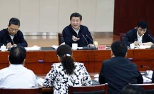 """中央政治局七常委是如何""""督战""""县级民主生活会的"""