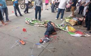 吃饭点菜点出人命,广东韶关一男子砍人致两死一伤