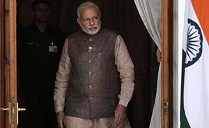 首访不丹、合作日本,印度新领导人莫迪意欲牵制中国