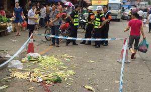 深圳一男子持菜刀当街砍人致1死12伤,疑因家庭纠纷