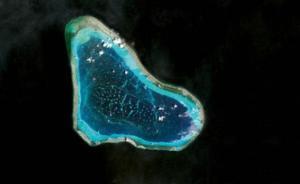 """应菲律宾要求,谷歌地图移除""""黄岩岛""""中文标注"""