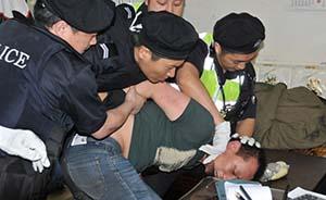 杭州公安局附近发生持刀劫持人质事件,嫌犯被制服有吸毒史