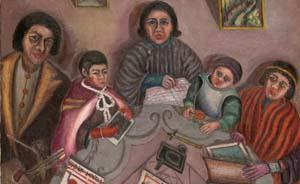 80年前上海曾有一位画家叫陈澄波,他是个传奇