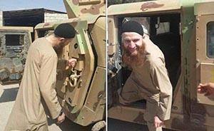 """伊拉克叛军发斩首视频挑衅世界杯:""""这是我们的人皮足球"""""""