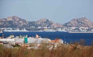 """中国回应""""海南建成航母基地"""":航母陆上设施系根据需要而定"""