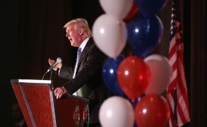 """美总统参选人特朗普借机打中国牌:人民币贬值""""摧毁""""美国"""