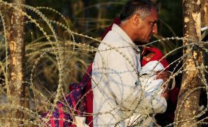 """欧洲难民问题持续发酵,民调显示英国支持""""脱欧""""者首占上风"""