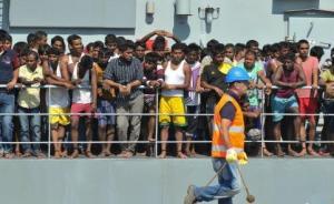 欧洲刑警:3万人口贩子偷运难民牟利,比贩卖军火毒品更赚钱