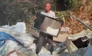 河南郑州一村民被从屋内拉出遭持枪威胁,房屋夷为废墟