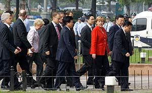 德国总理默克尔将于7月6日至8日访华