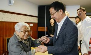 上海市委书记韩正:加强养老服务体系建设,提升为老服务水平