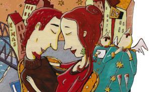 10种拥抱方式看穿情侣亲密度,来看看你们有多亲近