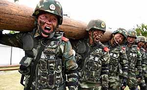 维护新疆社会稳定和长治久安是武警部队义不容辞责任