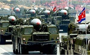 """金正恩:超精确战术导弹将不断飞向""""强盗群的老巢"""""""