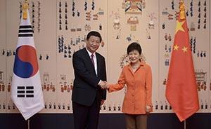 """中韩联合声明反对朝开发核武,首用""""坚决""""力度超前"""