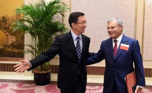 韩正会见市长咨询会嘉宾:上海改革深度广度前所未有