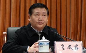 广西柳州市长肖文荪4日晚落水死亡,上午曾出席市委常委会议
