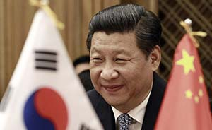 """习近平访韩坚持""""亲民路线"""":演讲拒绝特殊待遇,沙发换椅子"""