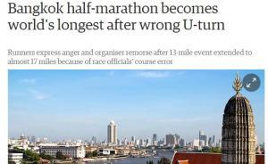 都在吐槽国内马拉松组织乱,其实国外比赛更离谱