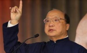 胡志强传将接任朱立伦竞选总部主委,曾任台中市长