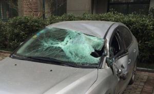 安徽一初三男生28楼坠下砸中轿车身亡,警方调查坠楼原因