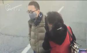 """对话""""劝退拦车小伙"""" 上海阿姨:对年轻人一时过激多点宽容"""