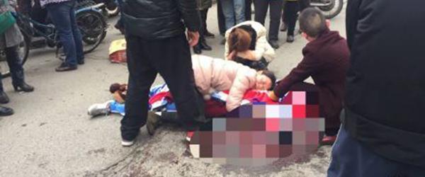 南昌中学生遭城管执法车撞击身亡,交警部门认定死者担主责
