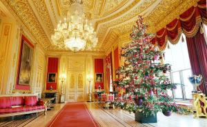 英国人真会玩,这次温莎城堡变身成了圣诞乐园