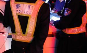 上海男子酒驾被查后逃逸,同车两男暴力抗法致民警右膝盖骨折