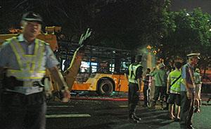 广州警方称301路公交车纵火案告破,25岁湖南籍嫌犯供述事实