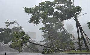 超强台风威马逊袭击中国南部,海南广州海陆空交通均受影响