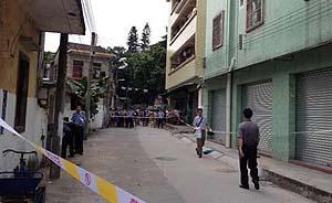 广东一20多岁男子持菜刀砍伤三孩童,最小不满1岁均头部中刀