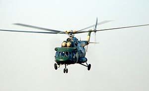 一架军用直升机在四川坠毁,我国陆军空军均装备此类机型