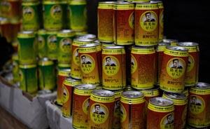 """温州小偷倒空价值17万""""陈光标好人""""凉茶,卖空瓶得115元"""