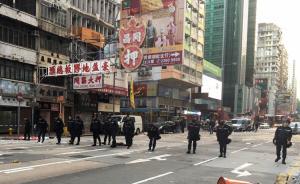 香港旺角骚乱:数百人暴力袭警,至少48警员受伤