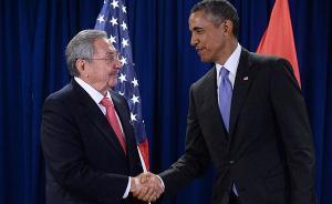 """若""""满足一定前提条件"""",奥巴马最快将于3月访问古巴"""